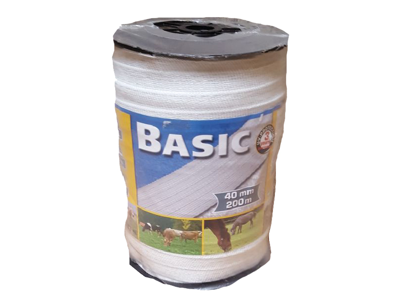 Basic Fence Tape White