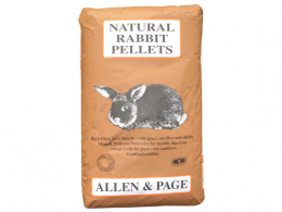 A&P Natural Rabbit Pellets