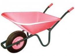 Fort Pink Wheelbarrow
