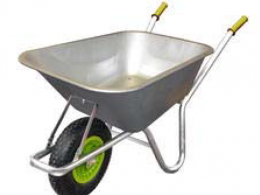 Galvanised Workhorse Wheelbarrow