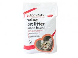 Snowflake Cat Litter